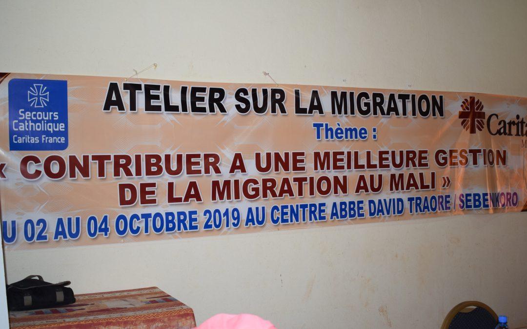 Atelier sur la Migration Caritas Mali réunit les acteurs pour une synergie d'actions.
