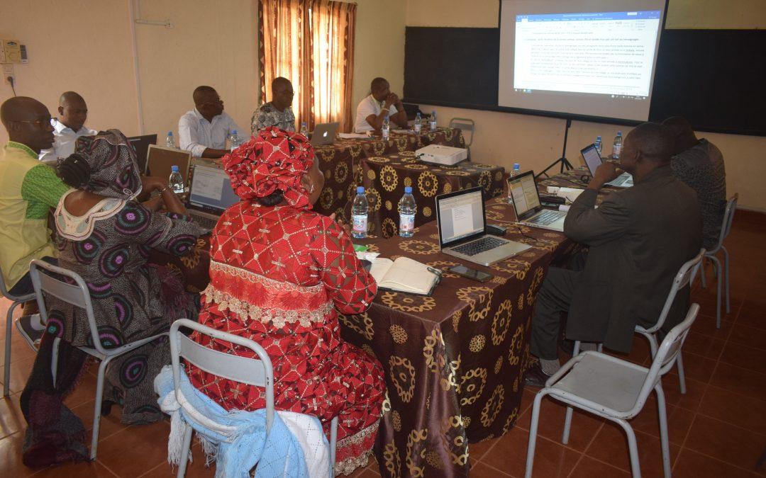 Atelier de cadrage EA 17/2019 Mali