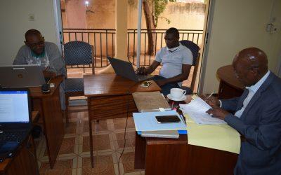 PASAN-BKS 1821 Réunion Virtuelle préparatoire du Comité de Pilotage prévu pour demain 31 mars 2020.