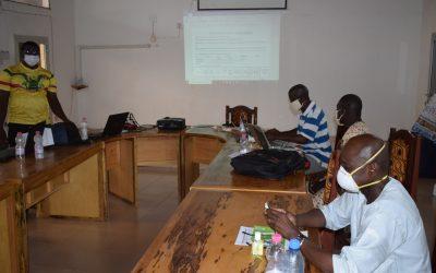 Caritas Mali PASAN-BKS 1821 le Suivi-évaluateur fait une première mission dans le diocèse de Ségou.