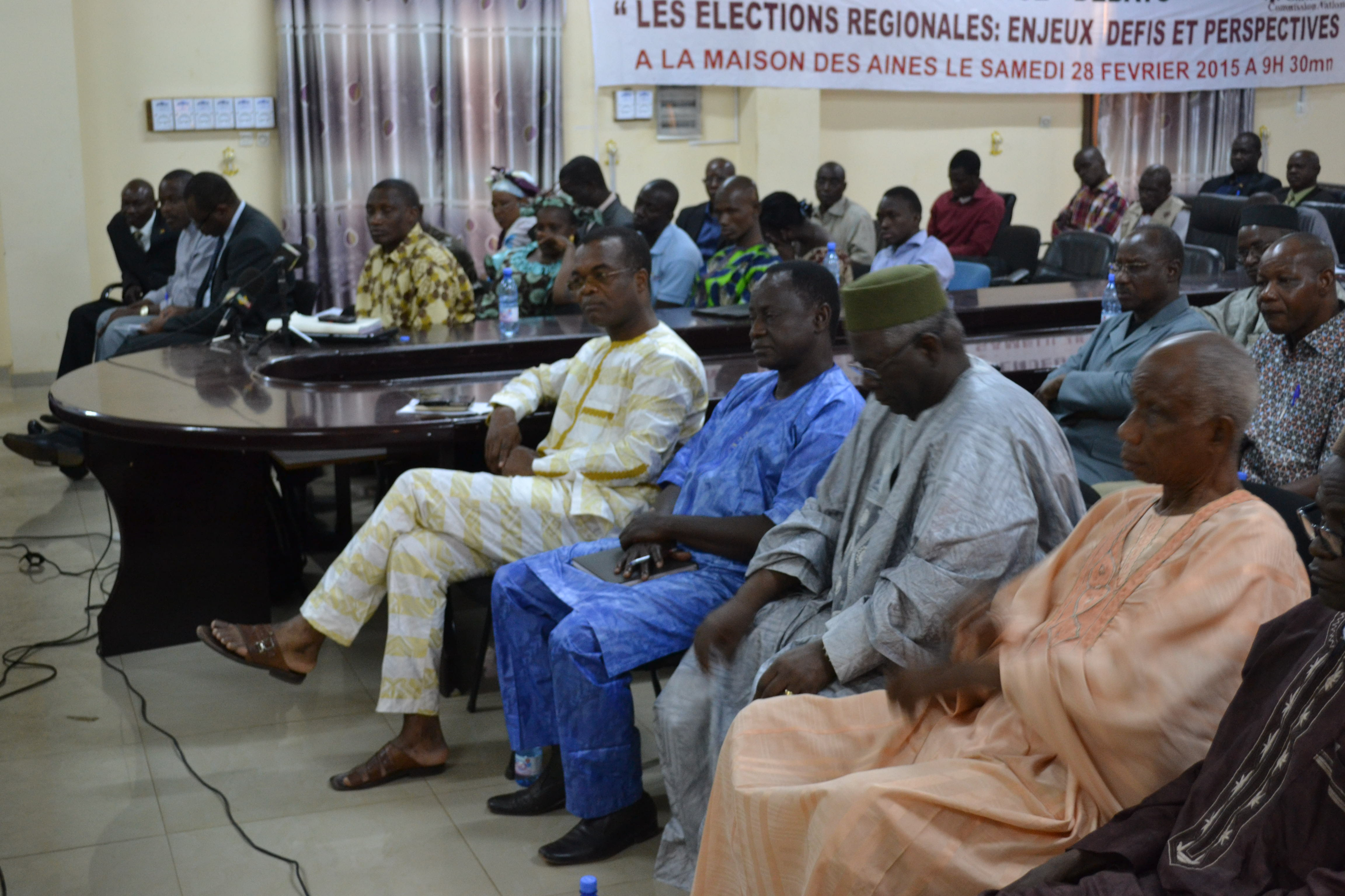 Conference Débats Caritas Mali sur les élections
