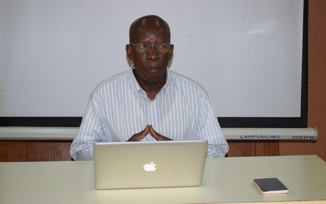 Mot de bienvenue du Secrétaire Général de Caritas Mali aux participants à l'atelier d'évaluation  finale des Normes de Gestion de Caritas Internationalis : CRES, du 06 au 10 mai 2019