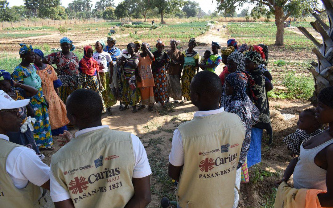 Mission dans le diocèse de Bamako du Coordinateur National du PASAN-BKS 1821 du 09 au 13 novembre 2019.