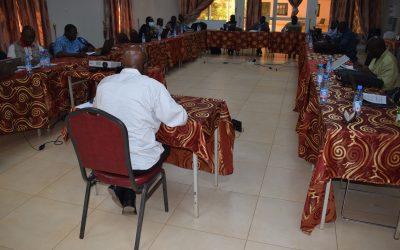 Allocution d'ouverture du Secrétaire Général de Caritas Mali de l'atelier  de planification de la phase II du PASAN